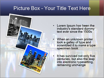 Singapore skyline PowerPoint Template - Slide 17
