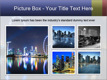 Singapore skyline PowerPoint Template - Slide 19
