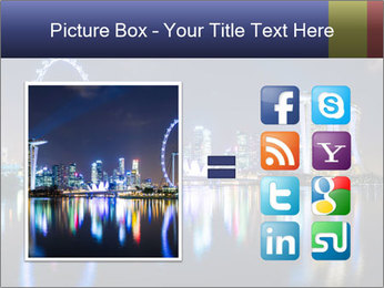 Singapore skyline PowerPoint Template - Slide 21