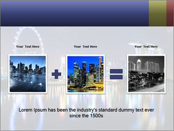 Singapore skyline PowerPoint Template - Slide 22