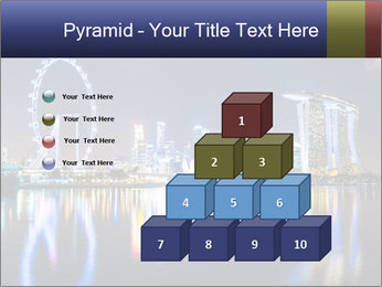 Singapore skyline PowerPoint Template - Slide 31