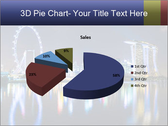 Singapore skyline PowerPoint Template - Slide 35