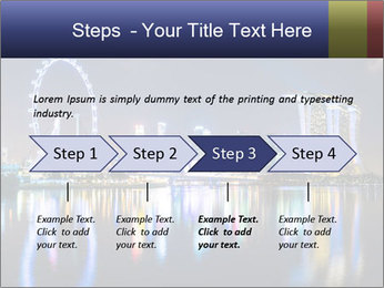 Singapore skyline PowerPoint Template - Slide 4