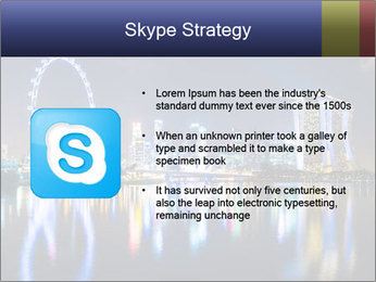 Singapore skyline PowerPoint Template - Slide 8
