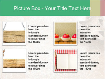 Abstract Christmas food PowerPoint Templates - Slide 14