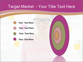 Woman in glasses PowerPoint Templates - Slide 84