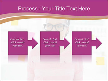 Woman in glasses PowerPoint Templates - Slide 88