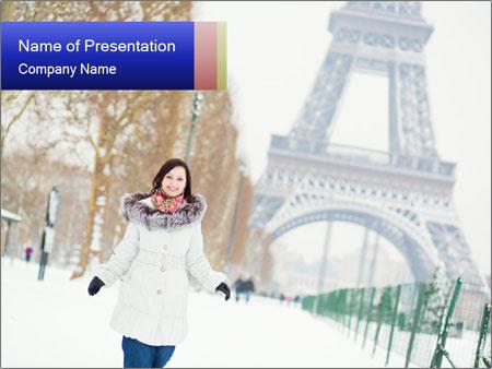 Girl enjoying PowerPoint Templates