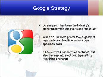 Girl enjoying PowerPoint Templates - Slide 10