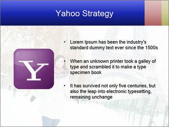 Girl enjoying PowerPoint Templates - Slide 11