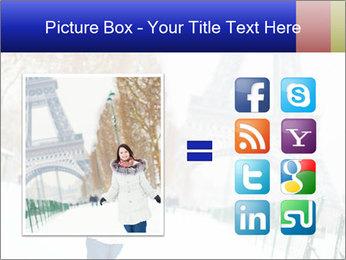 Girl enjoying PowerPoint Templates - Slide 21