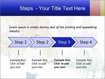 Girl enjoying PowerPoint Templates - Slide 4