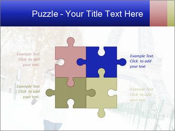 Girl enjoying PowerPoint Templates - Slide 43