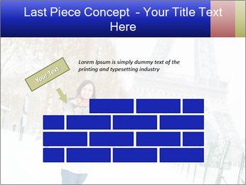Girl enjoying PowerPoint Templates - Slide 46