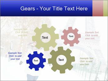 Girl enjoying PowerPoint Templates - Slide 47