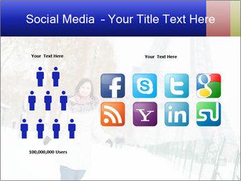 Girl enjoying PowerPoint Templates - Slide 5