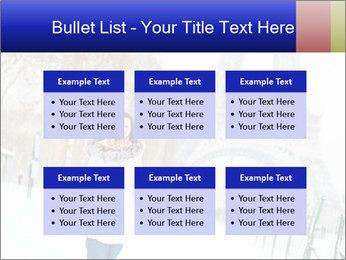 Girl enjoying PowerPoint Templates - Slide 56