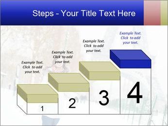 Girl enjoying PowerPoint Templates - Slide 64