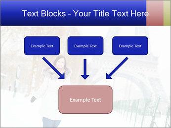 Girl enjoying PowerPoint Templates - Slide 70