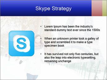 Girl enjoying PowerPoint Templates - Slide 8