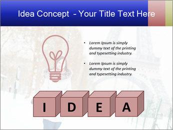 Girl enjoying PowerPoint Templates - Slide 80