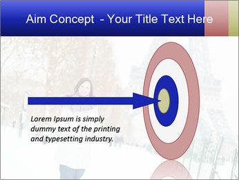 Girl enjoying PowerPoint Templates - Slide 83