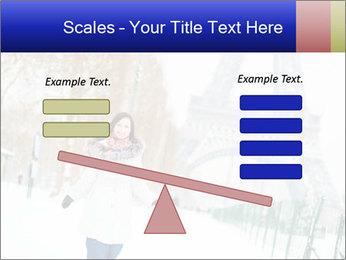 Girl enjoying PowerPoint Templates - Slide 89