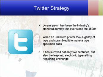 Girl enjoying PowerPoint Templates - Slide 9