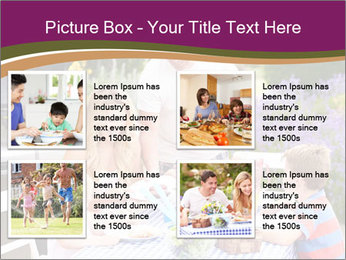 Barbeque In Garden PowerPoint Template - Slide 14