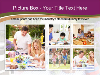 Barbeque In Garden PowerPoint Template - Slide 19