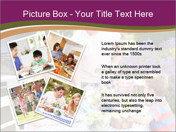 Barbeque In Garden PowerPoint Template - Slide 23