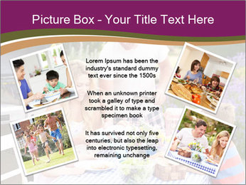 Barbeque In Garden PowerPoint Template - Slide 24