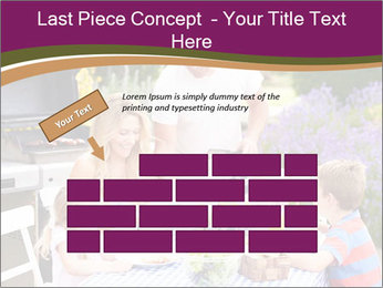 Barbeque In Garden PowerPoint Template - Slide 46