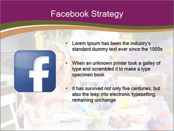 Barbeque In Garden PowerPoint Template - Slide 6