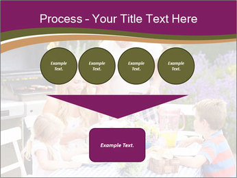Barbeque In Garden PowerPoint Template - Slide 93