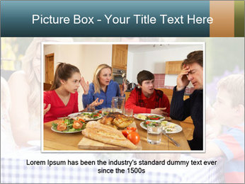 Family Enjoying PowerPoint Templates - Slide 15