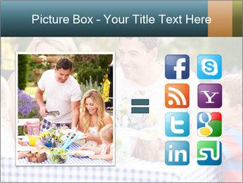 Family Enjoying PowerPoint Templates - Slide 21