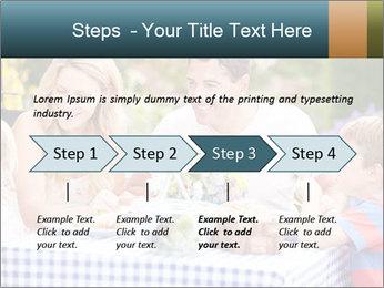 Family Enjoying PowerPoint Templates - Slide 4