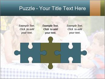 Family Enjoying PowerPoint Templates - Slide 42
