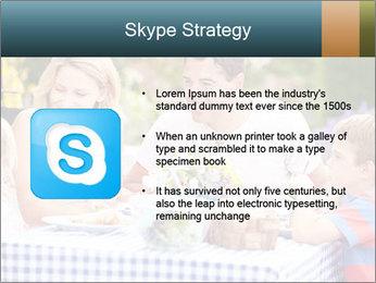 Family Enjoying PowerPoint Templates - Slide 8