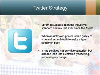 Family Enjoying PowerPoint Templates - Slide 9