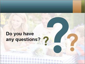 Family Enjoying PowerPoint Templates - Slide 96