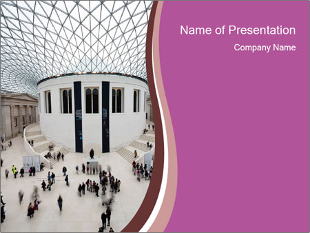 People visiting PowerPoint Template