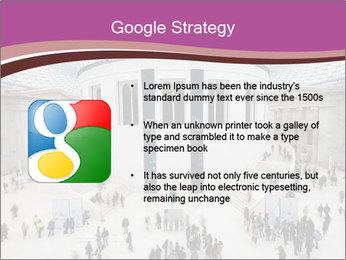 People visiting PowerPoint Template - Slide 10