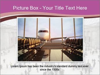 People visiting PowerPoint Template - Slide 15