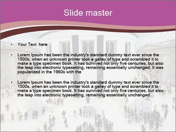 People visiting PowerPoint Template - Slide 2
