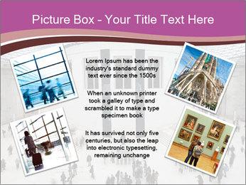 People visiting PowerPoint Template - Slide 24