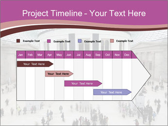 People visiting PowerPoint Template - Slide 25