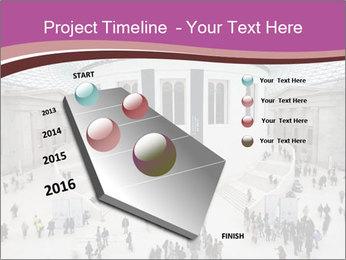 People visiting PowerPoint Template - Slide 26