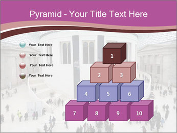 People visiting PowerPoint Template - Slide 31